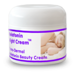 melatonin night cream