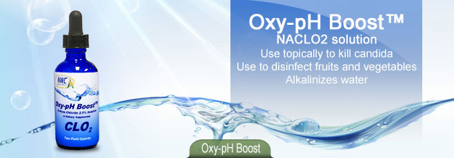 Oxy-pH Boost Sodium Chlorite